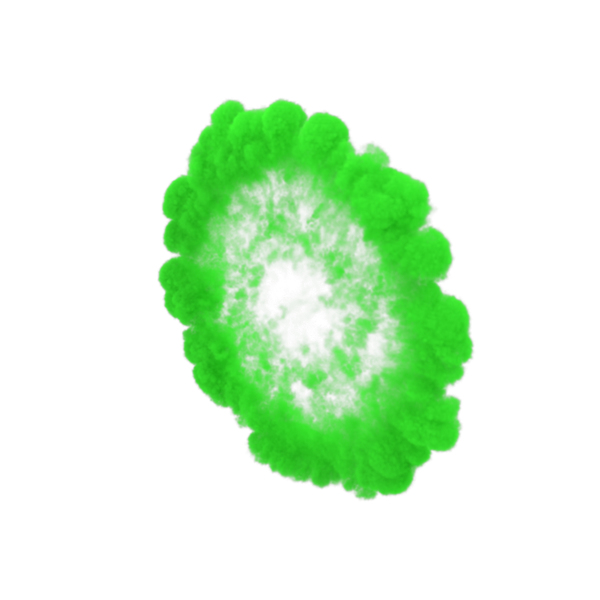 Green Smoke Ring PNG & PSD Images