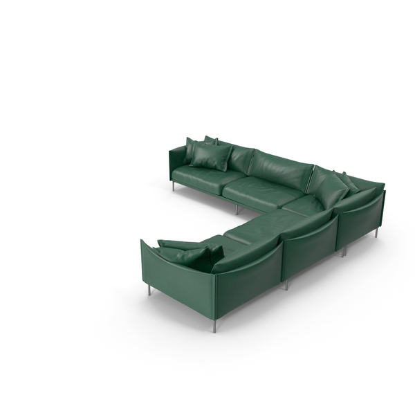 Green Sofa PNG & PSD Images
