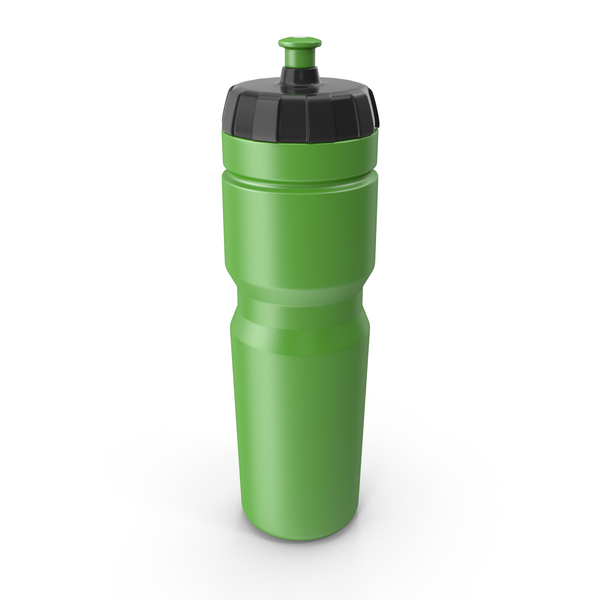 Green Sport Bottle PNG & PSD Images