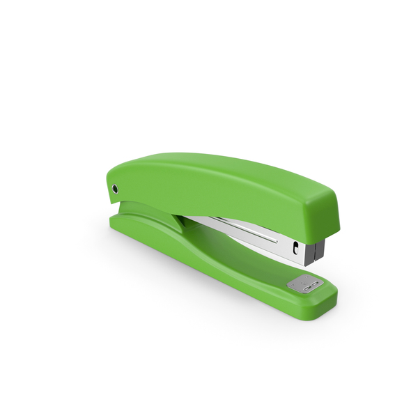 Green Stapler PNG & PSD Images