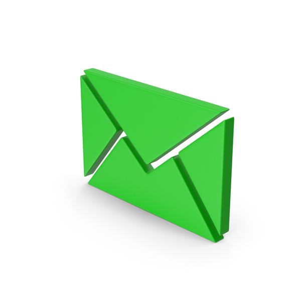 Symbols: Green Symbol Message PNG & PSD Images