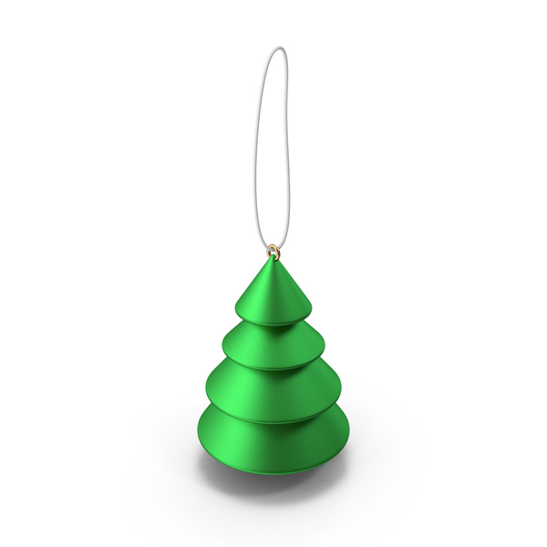 Green Tree Ornament PNG & PSD Images