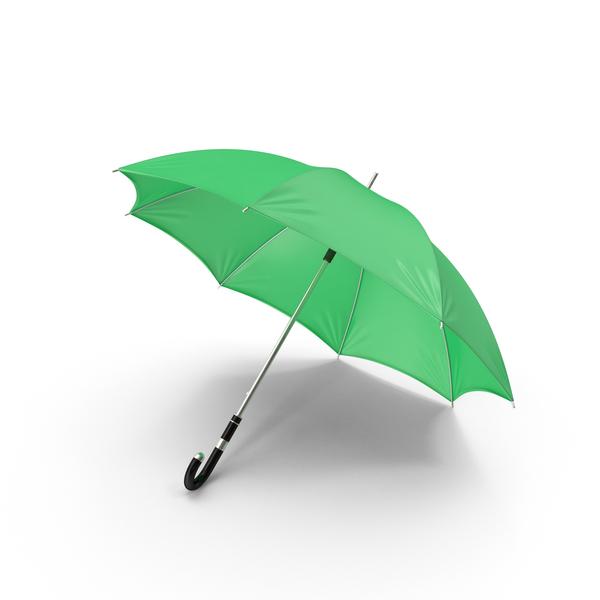 Green Umbrella PNG & PSD Images