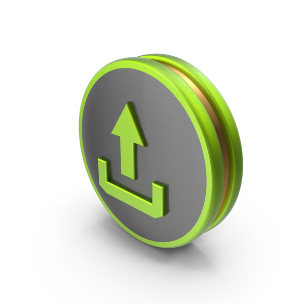 Green Upload Icon PNG & PSD Images