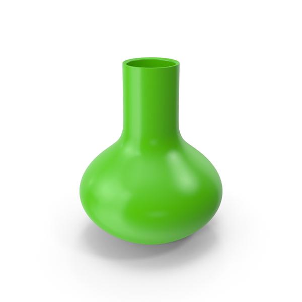 Green Vase PNG & PSD Images