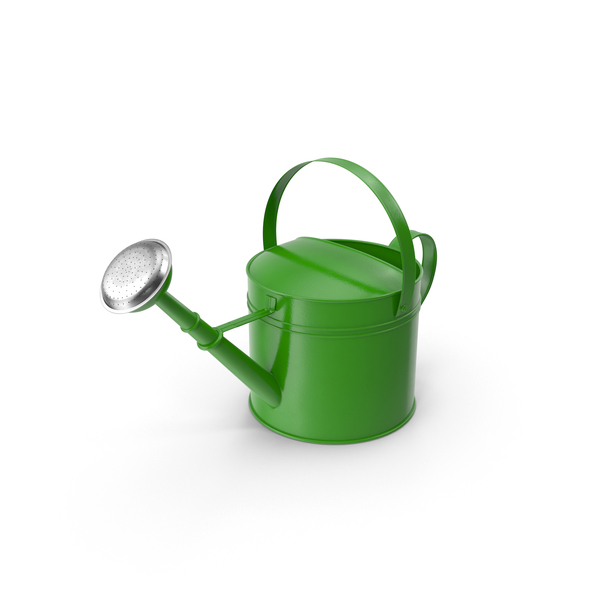 Green Watering Can PNG & PSD Images