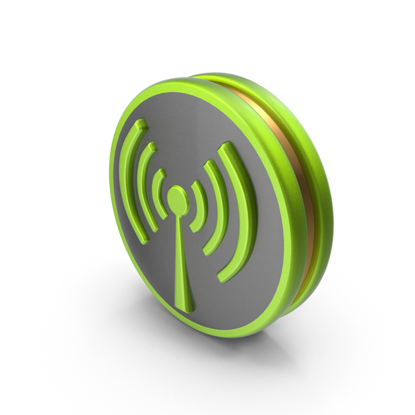 Logo: Green Wireless Icon PNG & PSD Images