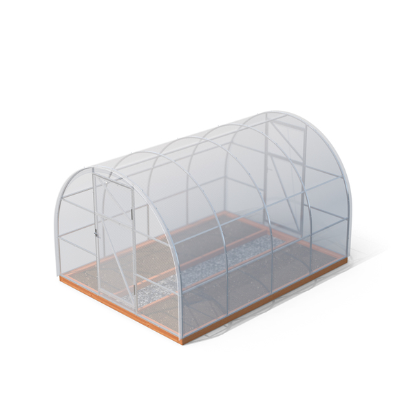 Greenhouse Round Roof PNG & PSD Images