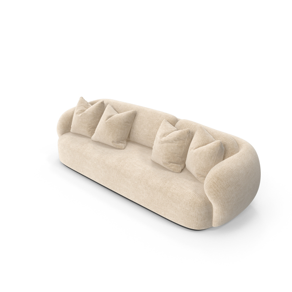 Greenkiss Coral Sofa PNG & PSD Images