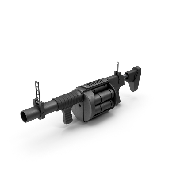 Grenade Launcher PNG & PSD Images