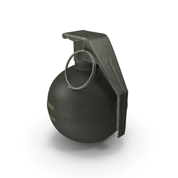 Grenade M33 PNG & PSD Images