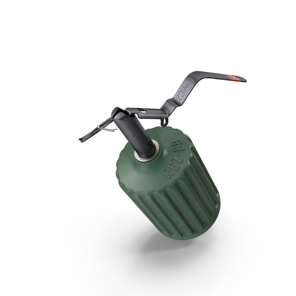 Grenade RGZ 89 Engaged PNG & PSD Images
