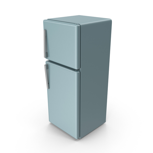 Grey Blue Refrigerator PNG & PSD Images