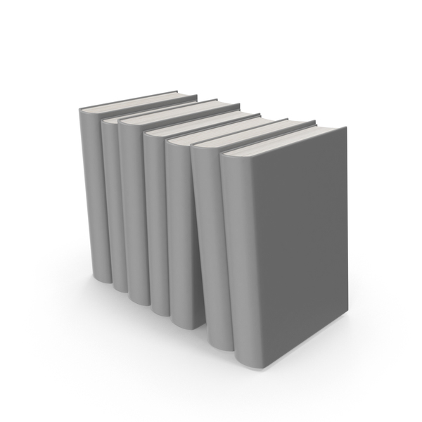 Grey Books PNG & PSD Images
