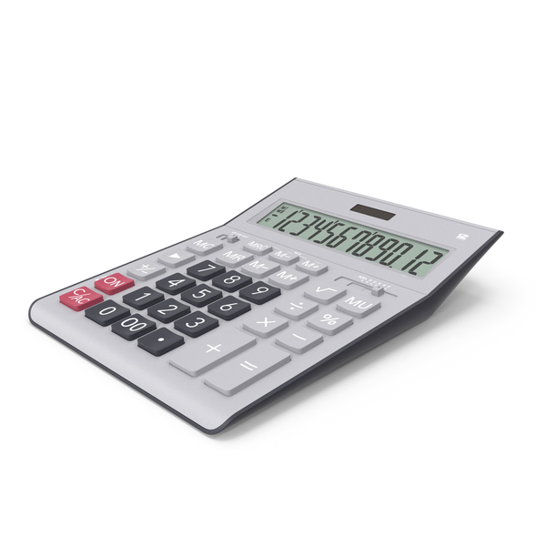 Grey Calculator Generic PNG & PSD Images