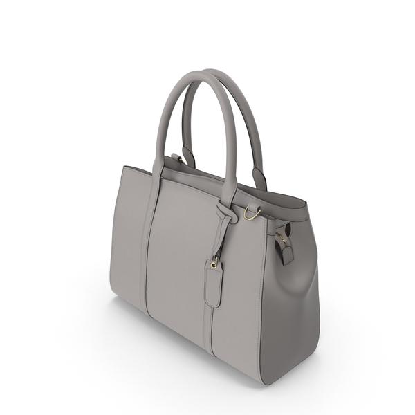 Grey Handbag PNG & PSD Images