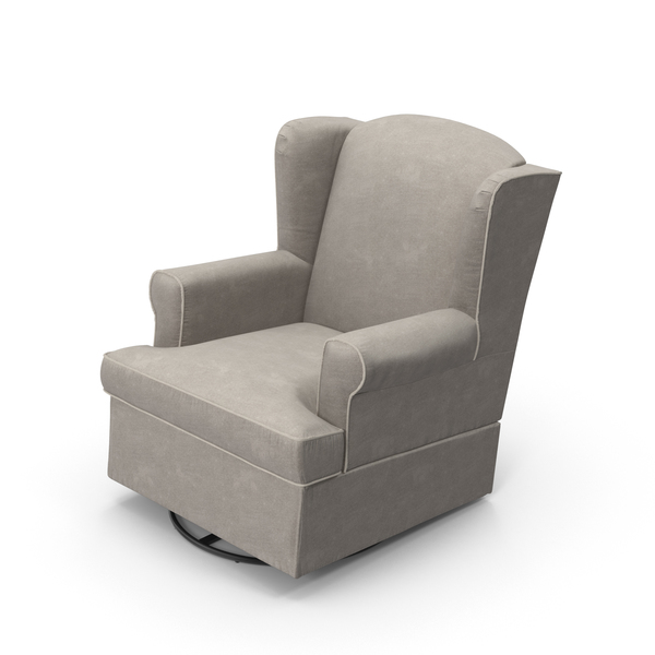 Arm: Grey Swivel Chair PNG & PSD Images
