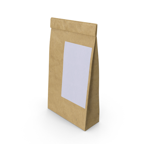 Ground Coffee Bag Object