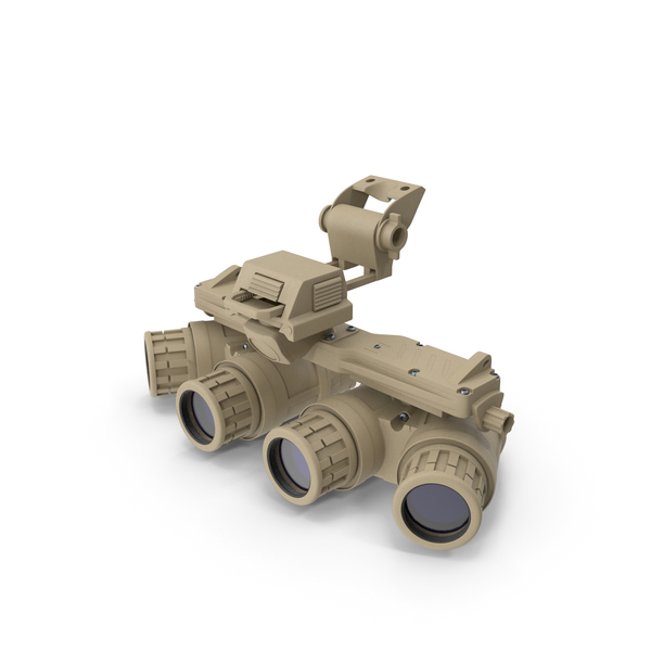 Ground Panoramic Night Vision Goggles PNG & PSD Images