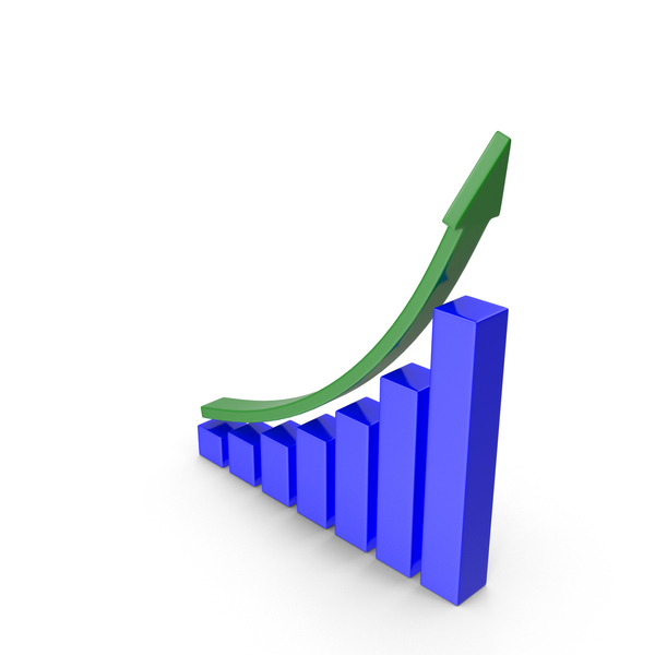Growing Graph PNG & PSD Images