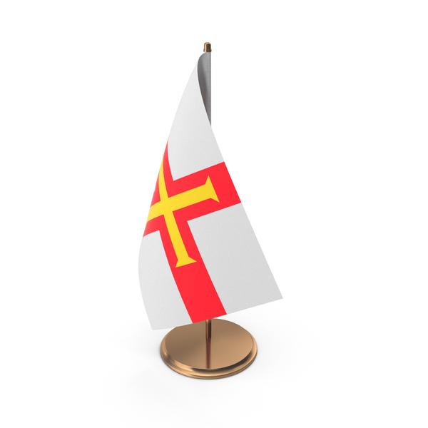Guernsey Desk Flag PNG & PSD Images