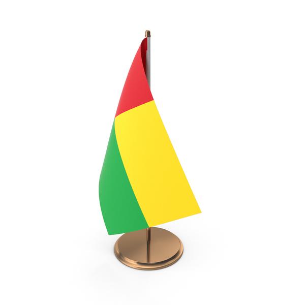 Equatorial: Guinea Bissau Desk Flag PNG & PSD Images
