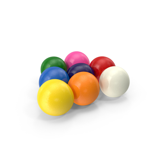 Gumballs PNG & PSD Images