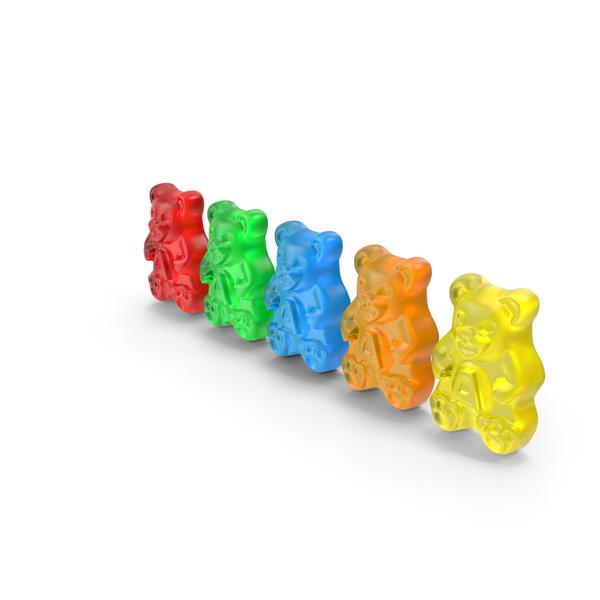 Gummi Bears Set PNG & PSD Images