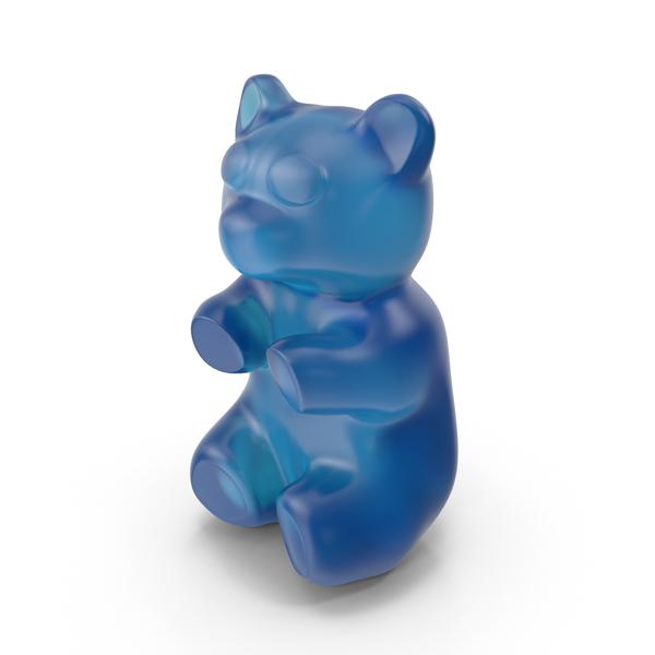 Gummy Bear Blue PNG & PSD Images