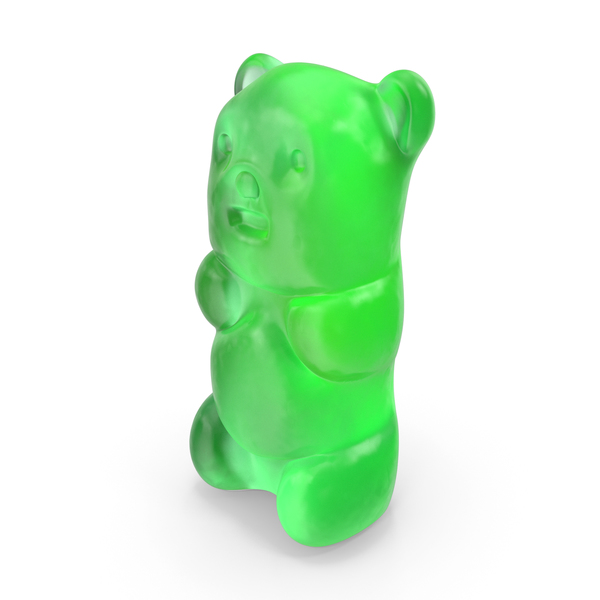 Gummy Bear Candy Green PNG & PSD Images