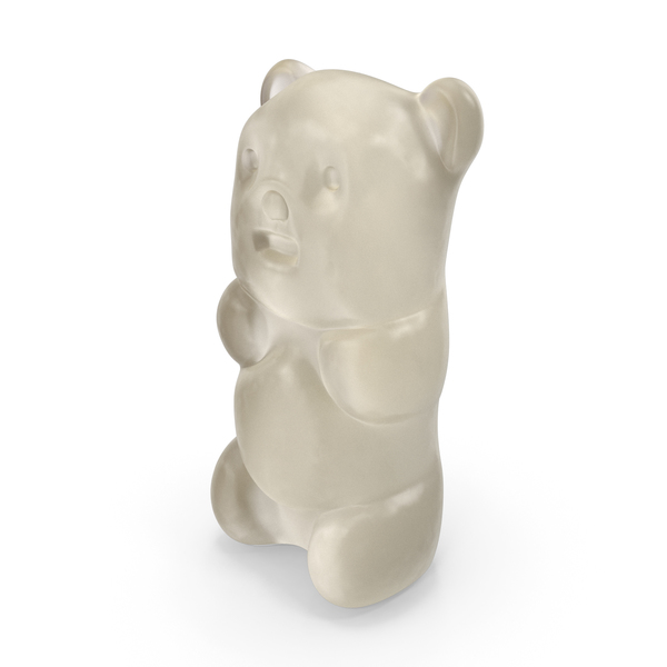 Gummy Bear Candy White PNG & PSD Images