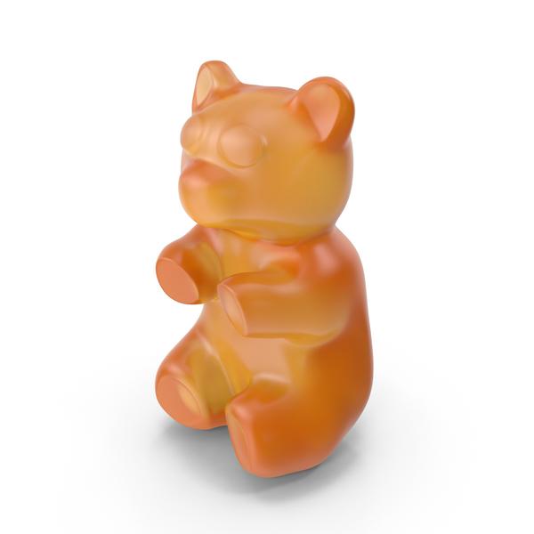 Gummy Bear Orange PNG & PSD Images