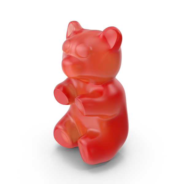 Gummy Bear Red PNG & PSD Images