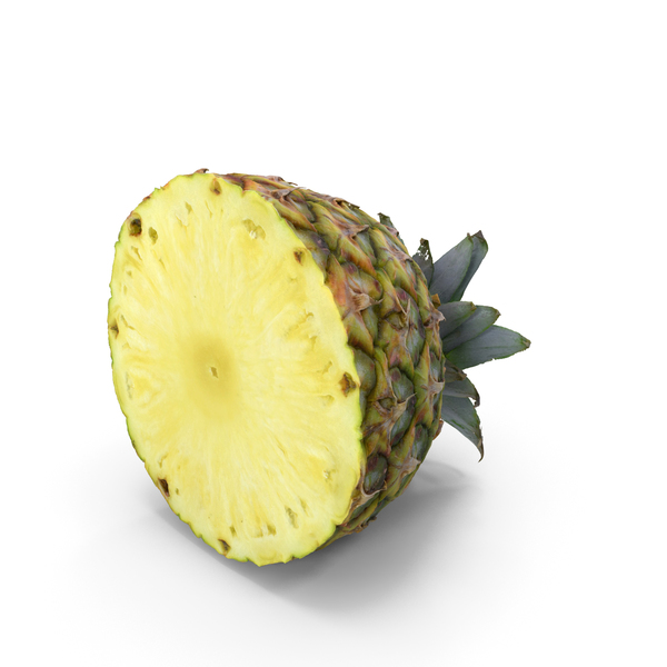Half Pineapple PNG & PSD Images
