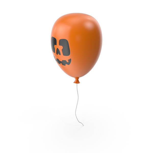 Balloons: Halloween Balloon PNG & PSD Images