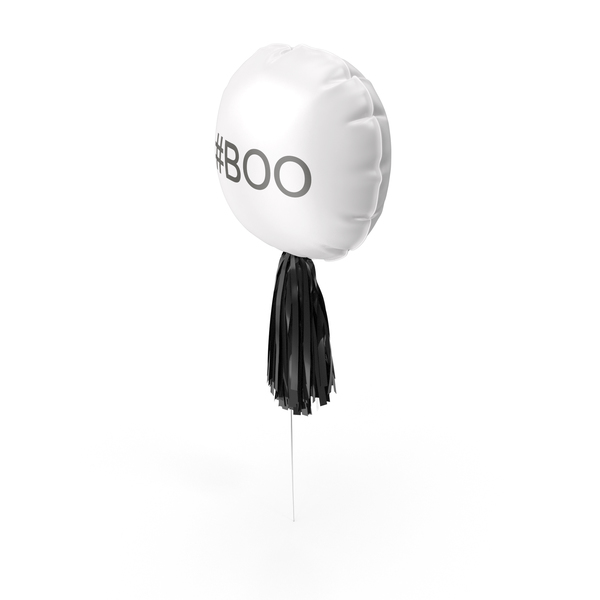 Halloween #BOO Balloon PNG & PSD Images