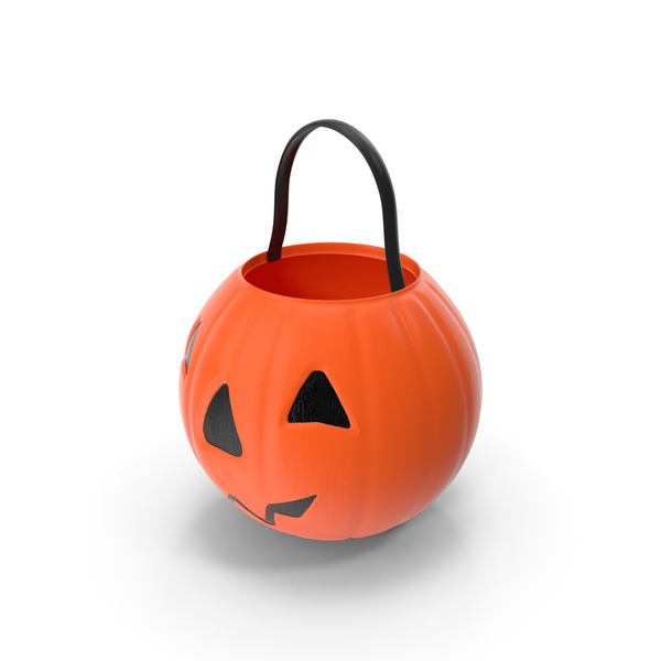 Bucket: Halloween Candy Pail PNG & PSD Images