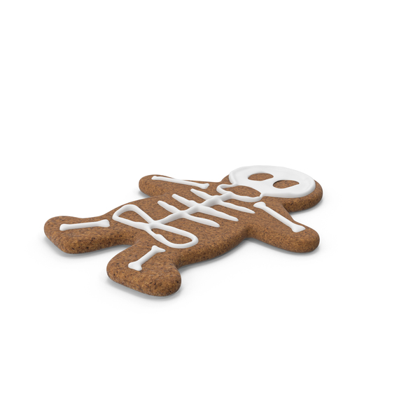 Gingerbread: Halloween Cookie Man PNG & PSD Images