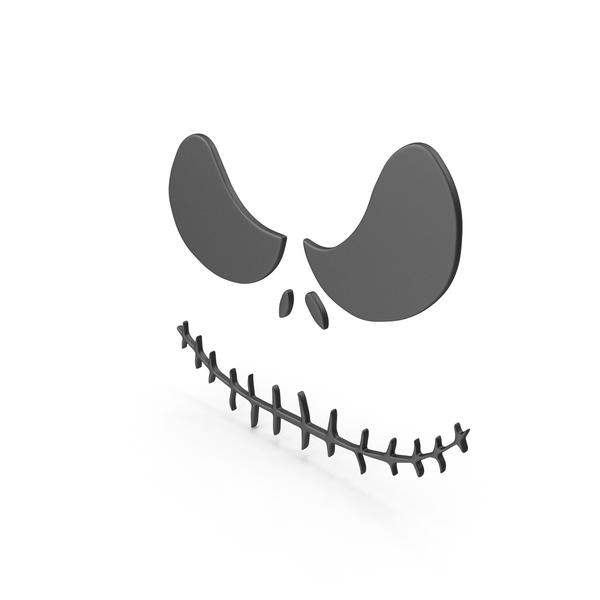 Banner: Halloween Pumpkin Face Symbol PNG & PSD Images