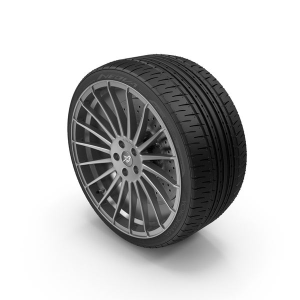 Car Tire: Hamann Aniversary Evo PNG & PSD Images