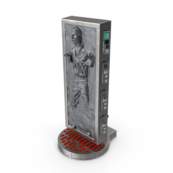 Statue: Han Solo In Carbonite PNG & PSD Images
