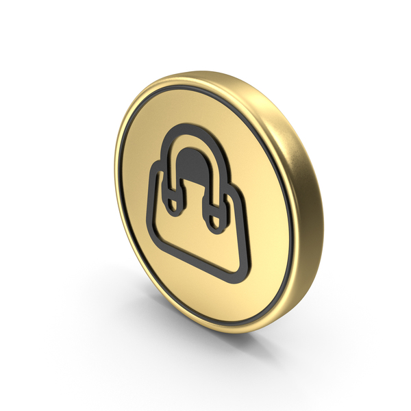 Hand Bag Coin Logo Icon PNG & PSD Images