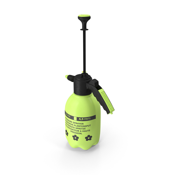 Hand Held Garden Sprayer PNG & PSD Images