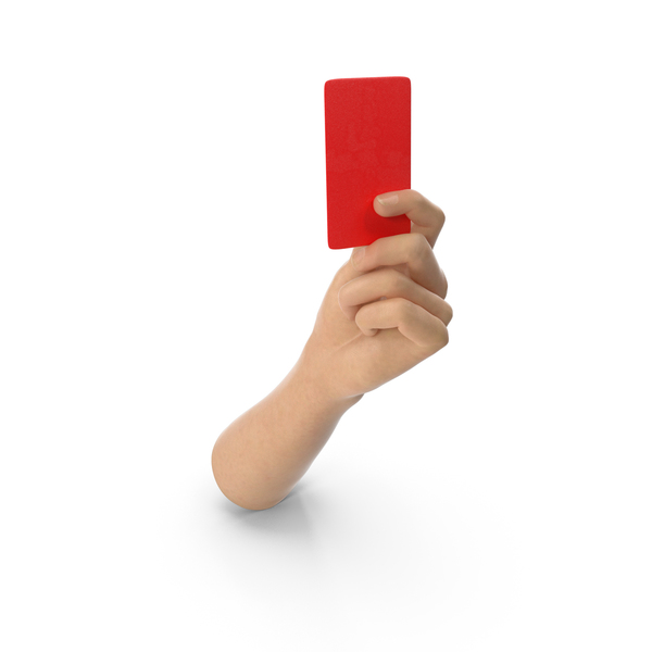 Hand Holding a Red Card PNG & PSD Images