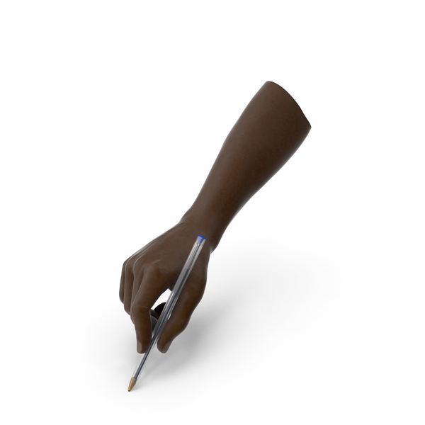Hand Holding a Simple Pen PNG & PSD Images