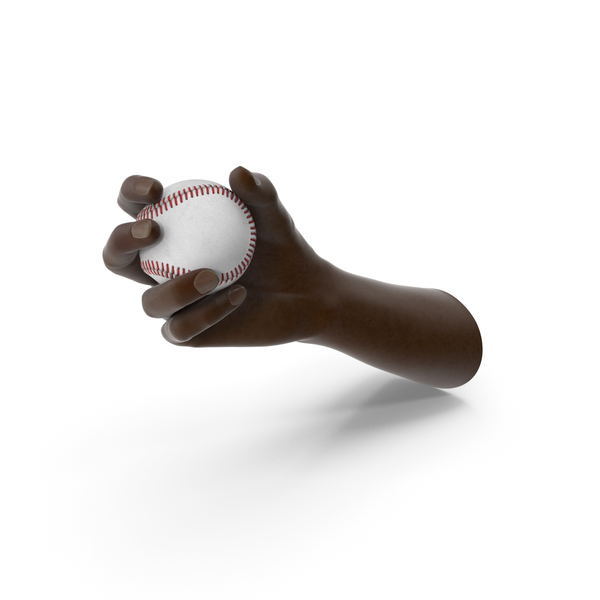 Hand Holding Baseball Ball PNG & PSD Images