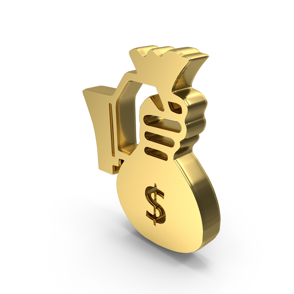Bag: Hand Holding Money Logo Symbol Icon PNG & PSD Images