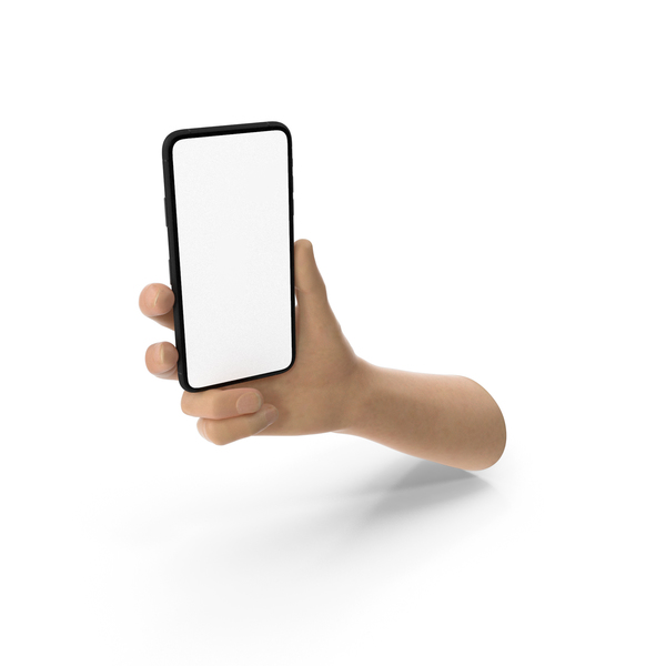 Hand Holding Smartphone PNG & PSD Images