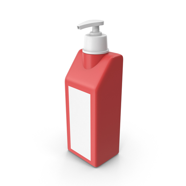 Hand Sanitizer Red PNG & PSD Images