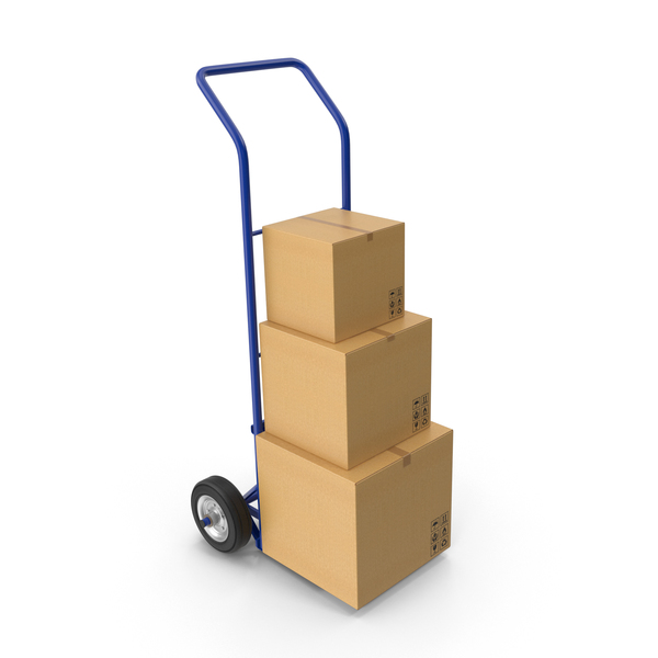 Hand Truck PNG & PSD Images